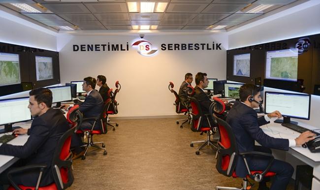 İşte Türkiye'nin 'Denetim Merkezi'nden Görüntüler...