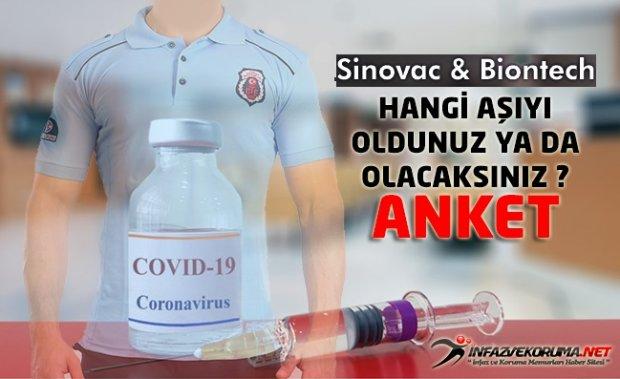 Sinovac & Biontech - Hangi Aşıyı Oldunuz ya da Olacaksınız ? Anket