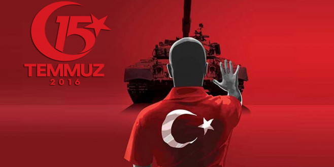15 Temmuz Şehit ve Gazilerimizi Saygıyla Anıyoruz.