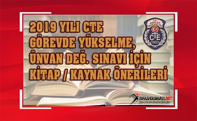 2019 Yılı CTE Görevde Yükselme, Ünvan Değ. Sınavına Hazırlık İçin Kitap, Kaynak Önerileri...
