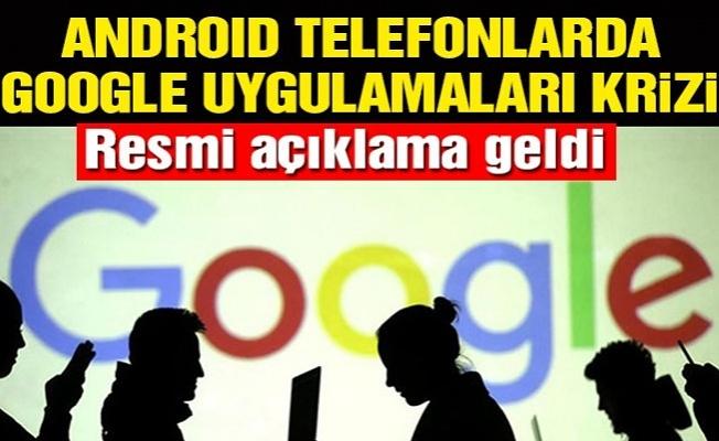 Google Uygulamaları Türkiye'de Kullanılamayacak