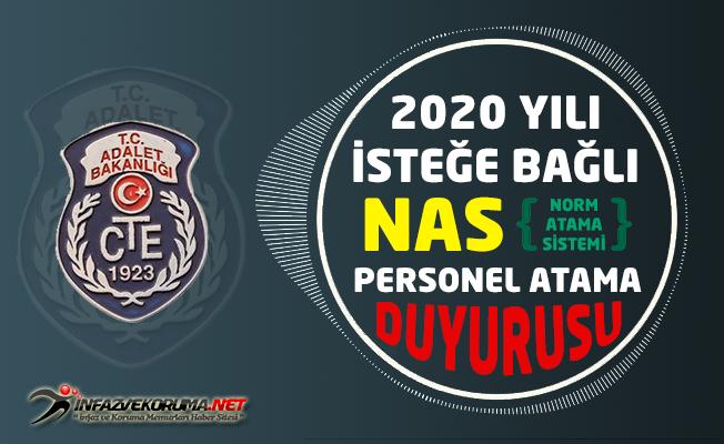 CTE 2020 Yılı İsteğe Bağlı NAS ( Norm Atama Sistemi ) Personel Atamasına İlişkin Duyuru