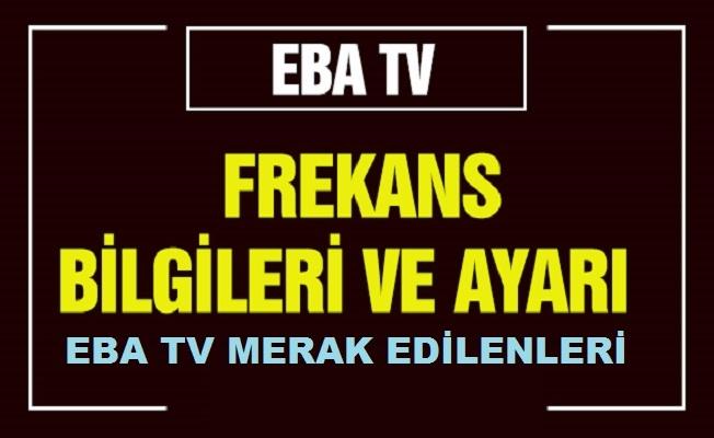 EBA TV canlı izle… EBA TV internetten nasıl izlenir? EBA TV kanal listesi…