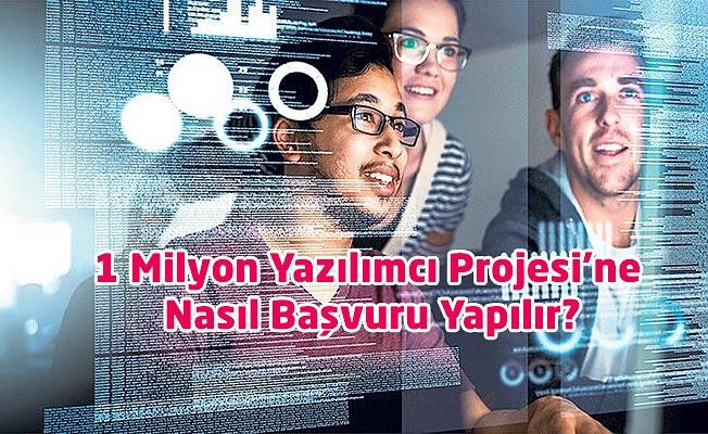 1 Milyon Yazılımcı Projesi'ne Nasıl Başvuru Yapılır?