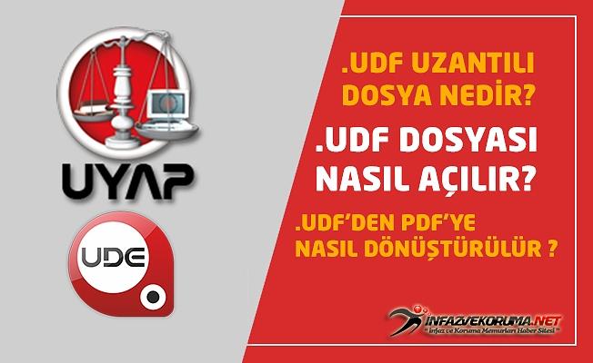 UDF Uzantılı Dosya Nedir, Nasıl Açılır, PDF'ye Nasıl Dönüştürülür ?