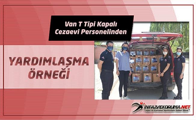 Van T Tipi Kapalı Cezaevi Personelinden Yardımlaşma Örneği