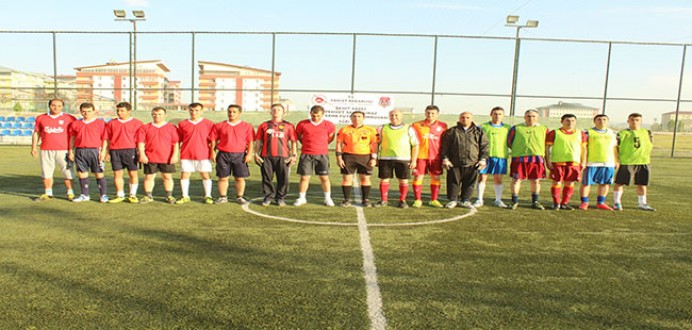 Ağrı M Tipi'nden Şehit Savcı M. Selim KİRAZ Anısına Futbol Turnuvası...