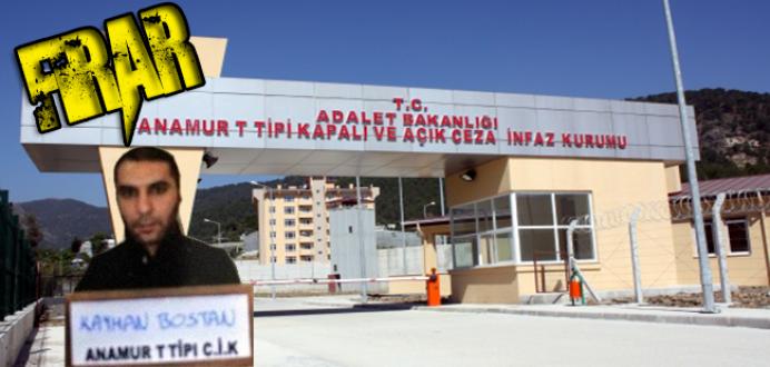 Anamur T Tipi Cezaevinde, Hastaneye Götürülen Mahkum Firar Etti...