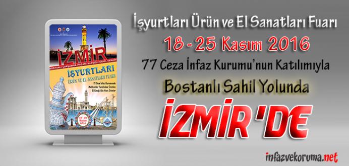 Ceza İnfaz Kurumları, Tutukevleri İşyurtları Fuarı ile İzmir'de !