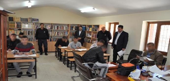 İslahiye A2 Tipi Kapalı Ceza İnfaz Kurumu'nda 'Dini Bilgi Yarışması' Düzenlendi.