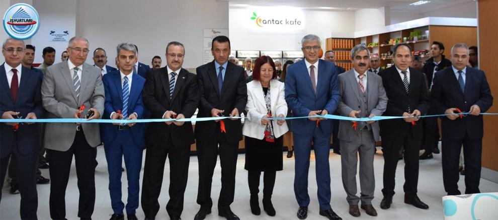 İşyurtları Kurumu Antalya Adalet Sarayı Satış Mağazası Ve Kafeteryasının Açılışı Yapıldı