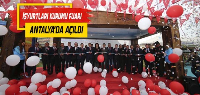 İşyurtları Kurumu 'Ürün ve El Sanatları Fuarı' Antalya'da Açıldı