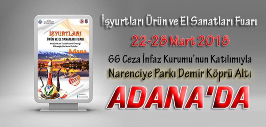 İşyurtları Ürün Ve El Sanatları Fuarı Adana'da Açılıyor