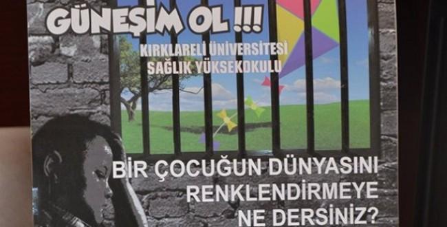 Kırklareli Cezaevi ve Üniversitesi 'Güneşim Ol' Projesiyle Bir Araya Geldi...