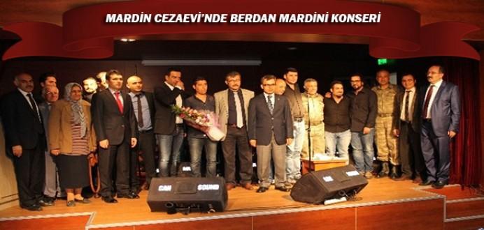 Mardin Ceza İnfaz Kurumunda Berdan Mardini Konseri Düzenlendi...