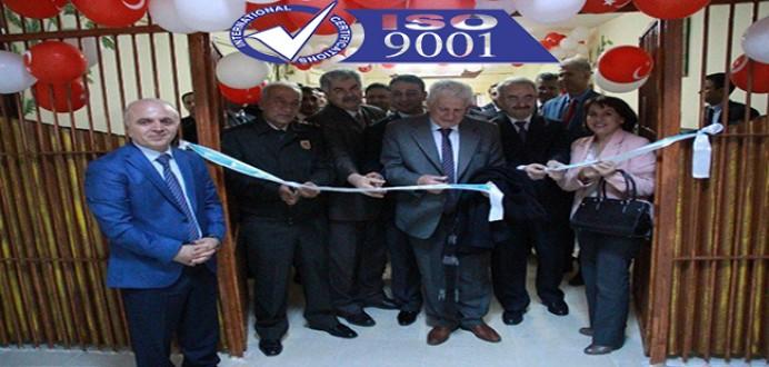 Sinop E Tipi Ceza İnfaz Kurumuna İSO 9001 Kalite Belgesi Verildi !