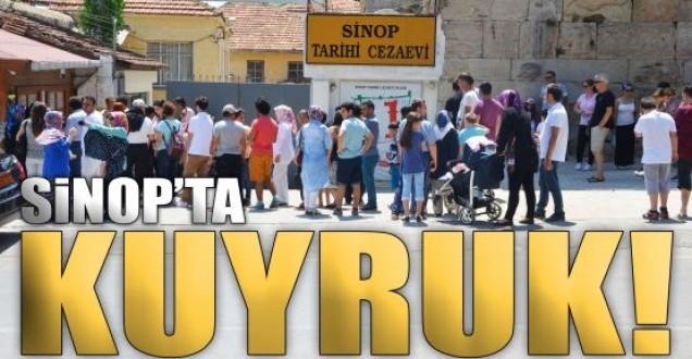 Tarihi Sinop Cezaevine Ziyaretçi Akını !