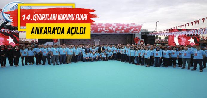 14. Geleneksel İşyurtları Ürün ve El Sanatları Fuarı Ankara'da Açıldı