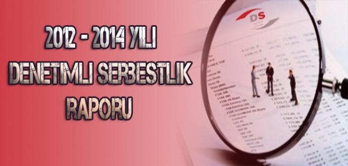 2012-2014 Yılı Denetimli Serbestlik Raporu...
