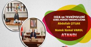 CTE Genel Müdür Yardımcılığına Abdullah ÇITLAK ve Namık Kemal VAROL Atandı