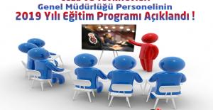 CTE Personelinin 2019 Yılı Eğitim Programı Açıklandı