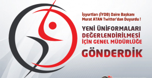 İşyurtları Daire Başkanı Murat ATAN Yeni Üniformalar İle İlgili Twitter'dan Paylaşım Yaptı