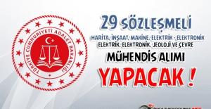 Adalet Bakanlığı Merkez Teşkilatında Çalıştırılmak Üzere Farklı Branşlarda 29 Müdendis Alacağını Duyurdu !