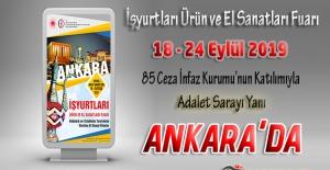 İşyurtları Kurumu Ankara Ürün ve El Sanatları Fuarı 18 Eylül 2019 Tarihinde Açılıyor !