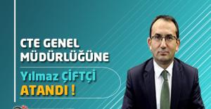 Ceza ve Tevkifevleri Genel Müdürlüğüne Yılmaz ÇİFTÇİ Atandı !