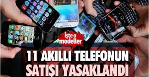BTK 11 akıllı telefon modelinin satışını yasakladı