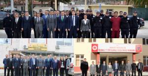 Genel Müdür Yardımcısı Hasan Akceviz ve Denetimli Serbestlik Daire Başkanı Burak Ceyhan Elmalı Denetimli Serbestlik Müdürlüğü ile Ceza İnfaz Kurumlarını Ziyaret Etti