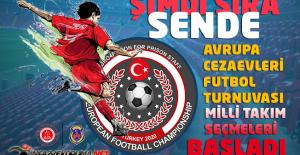 2020 Avrupa Cezaevleri Futbol Turnuvası...