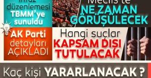 AK Parti'den Af Yasası ile İlgili Son Dakika Açıklaması! Ceza İnfaz Yasası Nasıl Olacak?