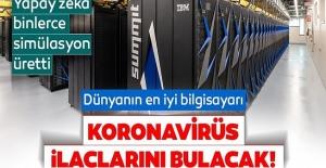 Dünyanın En İyi Bilgisayarı Corona Virüsüne İyi Gelen İlaçları Çıkardı!