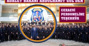 Adalet Bakanı Abdulhamit GÜL'den Cezaevi Personeline Teşekkür