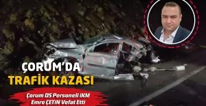 Çorum#039;da Trafik Kazası,Çorum...
