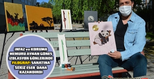 İnfaz ve Koruma Memuru Ayhan GÜNEŞ İzolasyon Günlerinde Filografi Sanatına 8 Eser Daha Kazandırdı