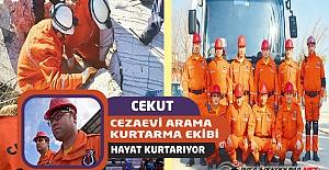 Cezaevi Arama Kurtarma Ekibi ( CEKUT ) Hayat Kurtarıyor