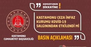 Kastamonu Ceza İnfaz Kurumu Kovid-19 Salgınından Etkilendi mi , Başsavcılıktan Açıklama