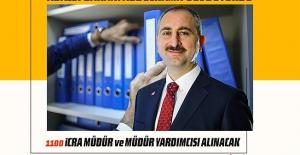 Adalet Bakanı Abdulhamit GÜL Duyurdu, 1100 İcra Müdür ve Müdür Yardımcısı Alınacak