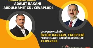 Hakan ÇELİK Sordu, Adalet Bakanı Abdulhamit GÜL Cevapladı : Cezaevi Personeli...