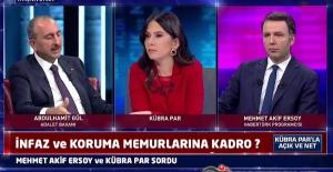 İnfaz ve Koruma Memurlarına Kadro ? - Mehmet Akif ERSOY ve Kübra PAR Sordu