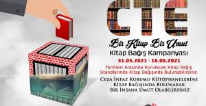 Ceza İnfaz Kurumu Kütüphaneleri İçin Kitap Bağış Kampanyası Başlatıldı