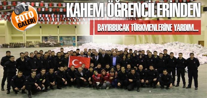 393. Dönem KAHEM Öğrencilerinden Bayırbucak Türkmenlerine Yardım...
