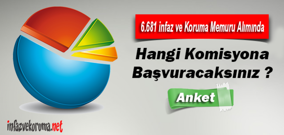 6.681 İnfaz ve Koruma Memuru Alımı, Hangi Komisyona Başvuracaksınız ?