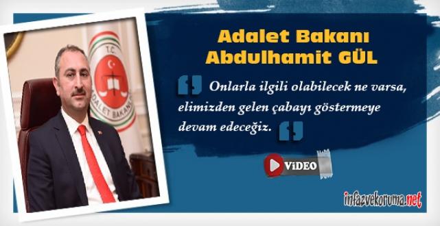 Adalet Bakanı GÜL Adalet Personellerinden Gelen Soruları Cevapladı...