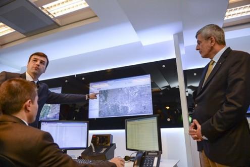 Adalet Bakanı Kenan İPEK Elektronik İzleme Merkezi'ni Ziyaret Etti...