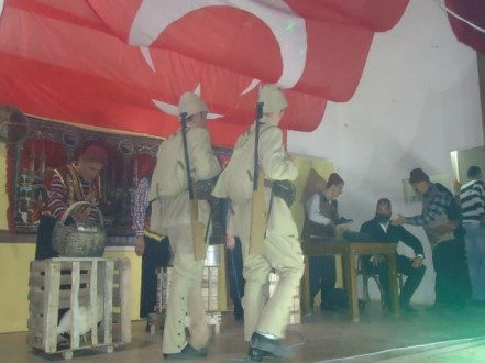 Bolvadin C Tipi CİK'te 'İktiklal Marşı' Konulu Tiyatro Oyunu Sergilendi...