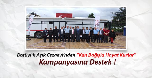 Bozüyük Açık Cezaevi'nden Kan Bağışı Kampanyasına Destek !