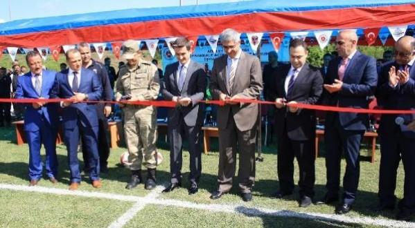 Cezaevinde Yapılan Futbol Sahasına Şehit Cumhuriyet Savcısı Mehmet Selim Kiraz'ın İsmi Verildi.
